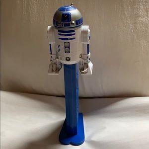 "12"" giant 2005 Star Wars R2-D2 Pez Candy Dispenser"